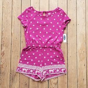 Girls shirt & shorts combo jumper